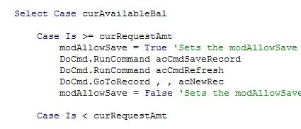 Overcoming MS Access Autosave When Using Subforms | Welcome to David