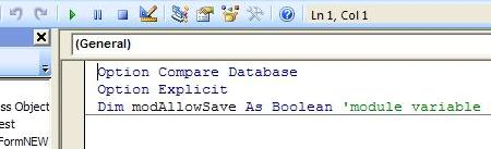 Overcoming MS Access Autosave When Using Subforms   Welcome to David